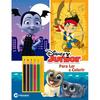 Disney Junior Ler e Colorir Com Lápis