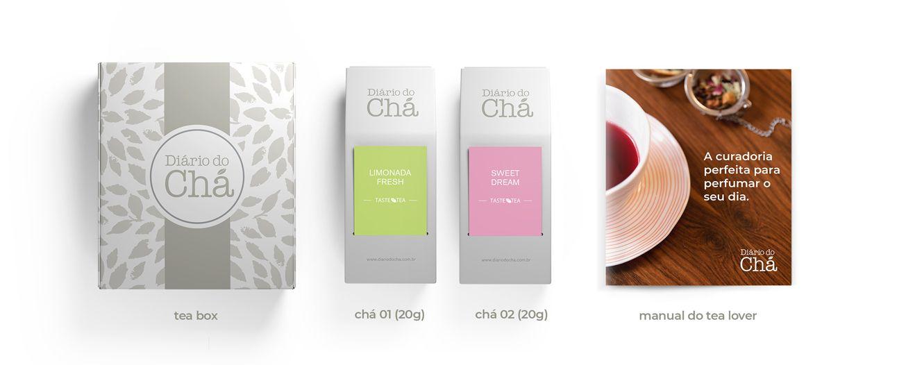 O que vem na tea box