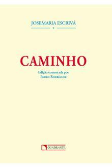 Livro Caminho - edição comentada por Pedro Rodríguez