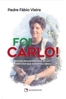 Livro Foi Carlo!