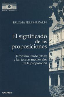 Significado de las Proposiciones, El