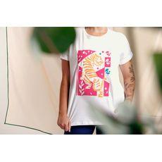 T-Shirt Estampa Onça