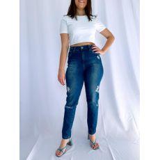 Calça Mom Jeans Patogê