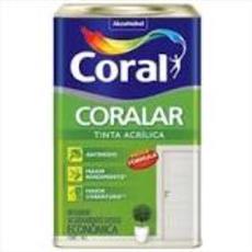 LATEX CORAL ACR.CORALAR MARFIM 18LT