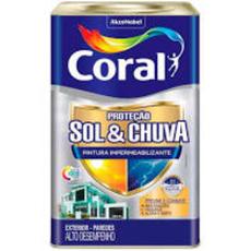 BASE CORAL PROTECAO SOL E CHUVA 16LT T