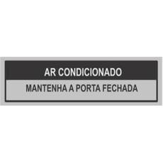 PLACA SINAL.PVC 5X25 AR CONDICION.200AG