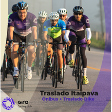 Traslado: Ônibus + Bike - Itaipava