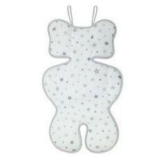 Almofada Para Bebe Conforto Estrelas Branco Clingo