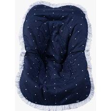 Capa De Bebe Conforto Cherie Azul Marinho Premium Brubreleu Baby