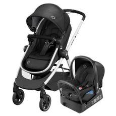 Carrinho de Bebê Travel System Anna2 Trio Essential Black Maxi-Cosi