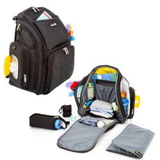 Mochila Maternidade Back Pack Preto Safety
