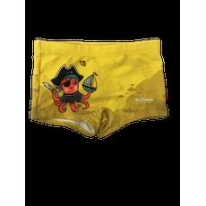 Sunga Box Polvo Pirata Amarelo Rio Ondas