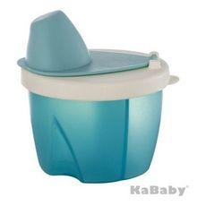 Pote Dosador Para Leite Em Pó Azul KaBaby