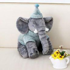 Pelúcia Elefante Buguinha Boy 34 cm Bupbaby