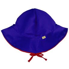 Chapéu Dupla Face Azul & Vermelho 50+FPU Ecokids Place