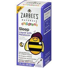 Melatonina Infantil 1 FL OZ 30ml Líquido Sleep Zarbee's