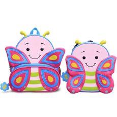 Kit Mochila E Lancheira Infantil Lets Go Borboleta Cindy Comtac Kids & Care