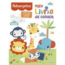 Livro Tapete Meu Livrão De Colorir 96 x 66 Ciranda Cultural Fisher Price