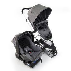 Carrinho Travel System Sky Trio Gray Classic Infanti