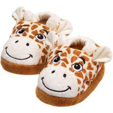 Pantufa Em Plush Peluciada Girafa Sonho de Luz