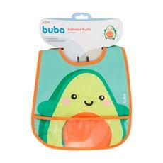 Babador Com Bolso Frutti Avocado Buba