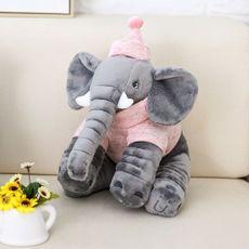 Pelúcia Elefante Buguinha Girl 34 cm Bupbaby