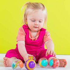 Chocalho Shake & Spin Activity Balls Bright Starts