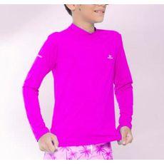 Blusa De Proteção Rosa Rio Ondas