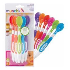 Conjunto Colheres Soft Tip 6 Unidades Munchkin