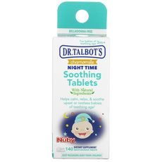 Comprimidos Calmante Chamomile Night Time 140 Pastilhas Nuby Dr Talbot's
