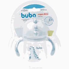 Copo Dino Com Alça Azul Buba