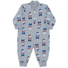 Macacão Bebê De Moletinho Ursos De Pijamas Dedeka