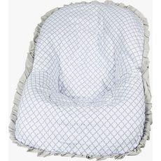 Capa De Bebe Conforto Levi Cinza Premium Brubreleu Baby