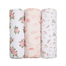 Cueiro Swaddle Soft Bamboo 1,20m X 1,20m Arco Floral Mami