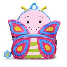 Mochila Infantil Lets Go Borboleta Cindy Comtac Kids & Care