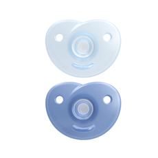 Chupeta Soothie 0-3m Tamanho 1 Dupla Azul Philips Avent