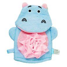Esponja Infantil Para Banho Hipopótamo Clingo