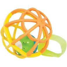 Baby Ball Luz e Som Amarelo Buba