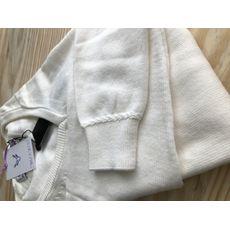 Suéter Decote V - Off White
