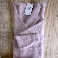 Blusão Maxipull Flufly - Rosé