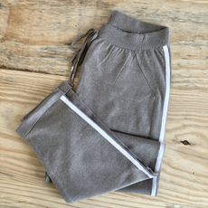 Calça Tricot - Nude Acizentado