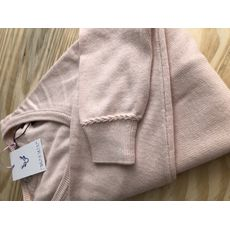 Suéter Decote V - Rosa Millenial