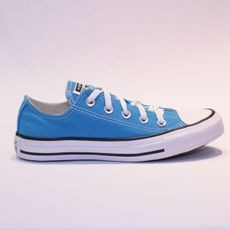 TÊNIS CONVERSE CHUCK TAYLOR ALL STAR SEASONAL OX AZUL NÁUTICO - CT04200044