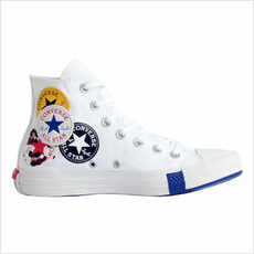 Tênis Converse All Star Chuck Taylor Cano Alto Branco