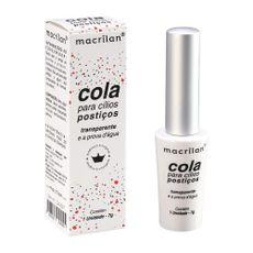 Cola de Cílios Transparente Macrilan