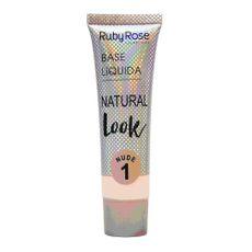 Base Líquida Natural Look Nude Ruby Rose 1
