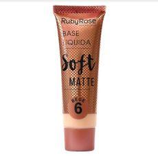 Base Líquida Soft Matte Bege Ruby Rose 6