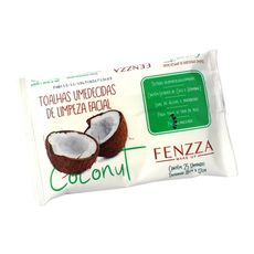 Toalhas Umedecidas Para Limpeza Coconut Fenzza