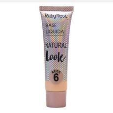 Base Líquida Natural Look Bege Ruby Rose 6
