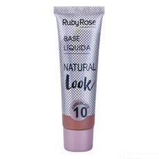 Base Líquida Natural Look Chocolate Ruby Rose 10